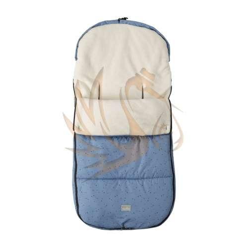 Nuvita Smart bundazsák 100cm - Blue Stars / Beige - 9585