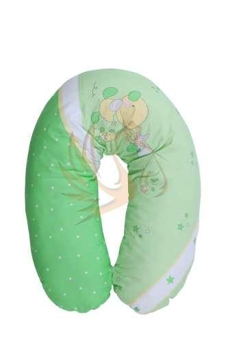 Lorelli Szoptatós Párna #Little Ducks #zöld- Kiskacsás #zöld