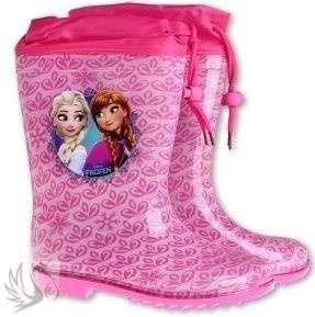 Disney Frozen Gumicsizma #28 méretben #rózsaszín