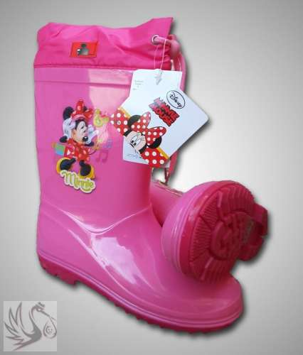 Disney #Minnie Egeres Gumicsizma #30 méretben #rózsaszín
