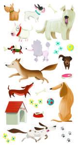 Avenue Mandarine - Decalco Mania kutya satírozós matrica 31202842 Avenue Mandarine