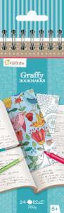 Avenue Mandarine - Színezhető könyvjelző - Mandala/Virágok 31202869 Avenue Mandarine