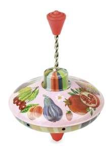 Vilac - Búgócsiga - gyümölcs (Nathalie Lété) 30404227 Pörgettyűs játék