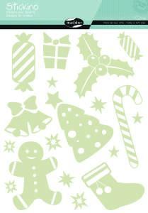 Maildor - Stickino karácsony ablakmatricák - Díszek 30404261
