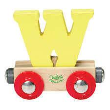 Vilac - W - mágneses fa betű vagon 30405210