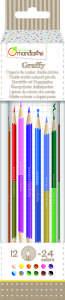 Avenue Mandarine duplavégű Ceruza készlet 12színű 30403795