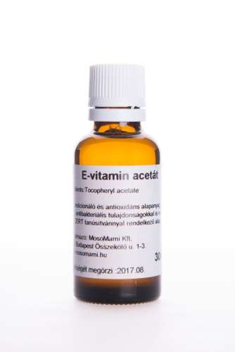 E-vitamin acetát