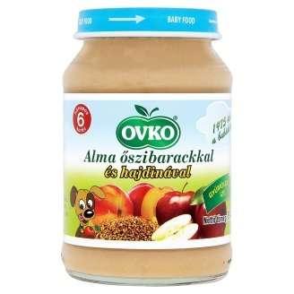OVKO Alma banán hajdina bébiétel 6hó/190g- 12 db