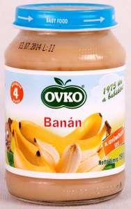 Ovko Glutén- és tejszármazékmentes Bébidesszert - banán  5hó/190g - 12db  30213085