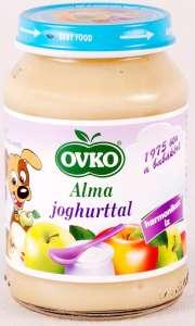 OVKO gluténmentes alma joghurttal bébidesszert 5hó/190g 12db  30213102