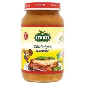Ovko gluténtartalmú #zöldséges lasagne sajttal bébiétel 8 hó/220 g 12db 30213117