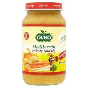 Ovko gluténmentes mediterrán rakott #zöldség bébiétel 8 hó/220 g 12db 30213118 Bébiétel, snack
