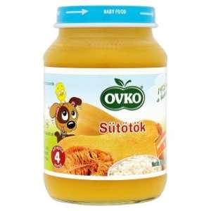 Ovko Glutén- és tejszármazékmentes Bébiétel - sütőtök 4 hó/190g - 12db 30213130