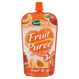 Novofruct alma püré őszibarackkal 3 éves kortól 120 g - 20 db
