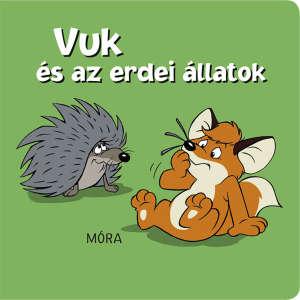 Vuk és az erdei állatok - pancsolókönyv 30215712