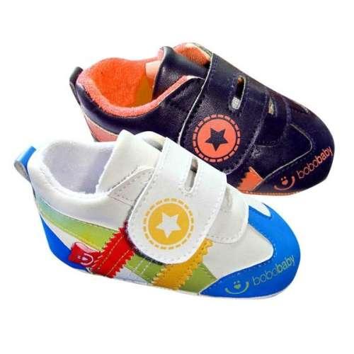 BoboBaby tépőzáras Cipő 12-18hó #narancssárga