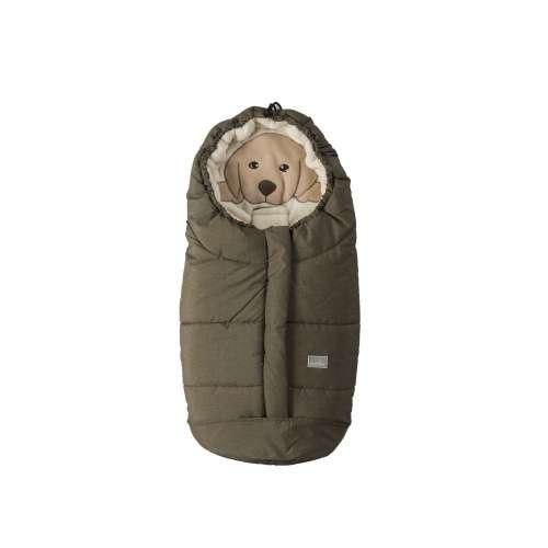 Nuvita Cuccioli Bundazsák 80cm kutya #melange-zöld-bézs