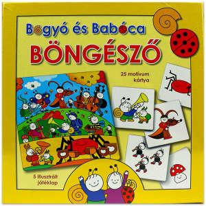 Bogyó és Babóca - Böngésző 30220301 Társasjáték