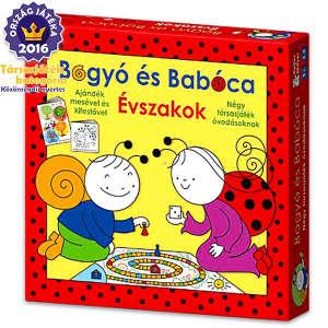 Keller & Mayer Évszakok Társasjáték-Bogyó és Babóca 31187963 Társasjáték