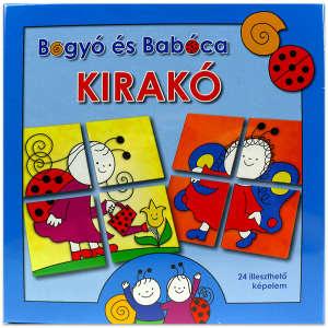 Bogyó és Babóca - Kirakó 30220308 Puzzle gyereknek