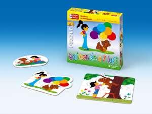 Boribon és a 7 lufi 30220316 Puzzle gyereknek