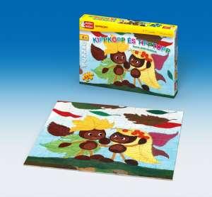 Keller&Mayer gyerek Puzzle 64db - Kippkopp és Tipptopp 30220370 Puzzle gyereknek