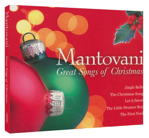 Mantovani - Great Songs of Christmas-CD
