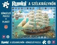 Rumini a Szélkirálynőn - Böngésző Puzzle + plakát 30220412 Puzzle
