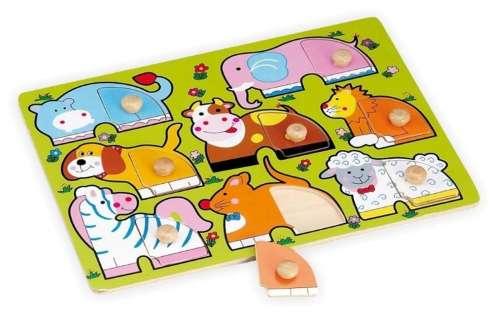 Fa Puzzle (állatos)