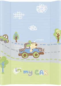Ceba merev Pelenkázó lap - Autó #kék-zöld 30220860
