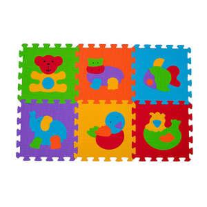 BabyOno szivacsPuzzle szőnyeg 6db állatos 30220939