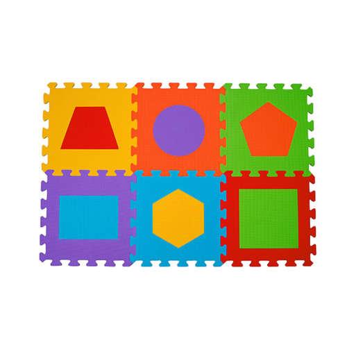 BabyOno Szivacs puzzle 6db - Formák