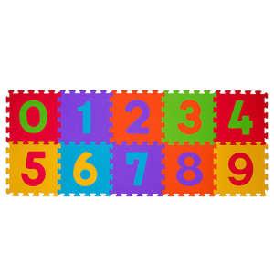 BabyOno szivacsPuzzle szőnyeg 10db számos 30220942