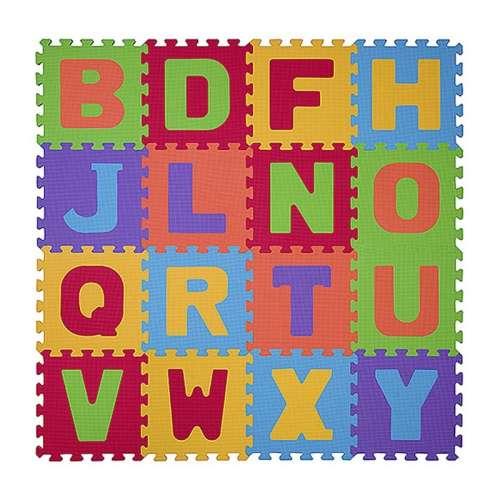 BabyOno szivacs Puzzle szőnyeg 16db betűk