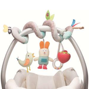 Taf Toys Spirál játék - Nyuszi #szürke 30221016 Babakocsi, kiságy játék