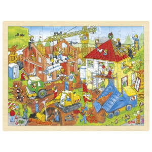 Fa Puzzle - Építkezés 30994357 Puzzle gyereknek