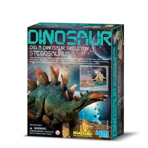 Régész játék - Stegosaurus csontváz
