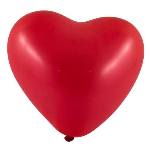 Bordó szív alakú lufi csomag #10db-os