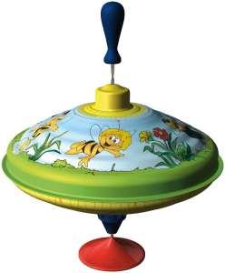 Búgócsiga Maja a méhecske mintával 30477912 Pörgettyűs játék