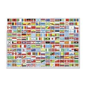 Educa A világ zászlajai Puzzle 1500db 30221752 Puzzle