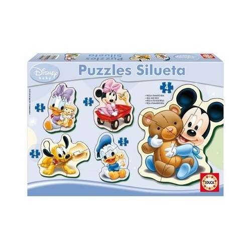 Educa Disney 5in1 gyerek Puzzle - Mickey Mouse 30221830