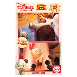 Educa Disney Csodacsibe fa Puzzle 2x25db 30476754 Puzzle gyereknek