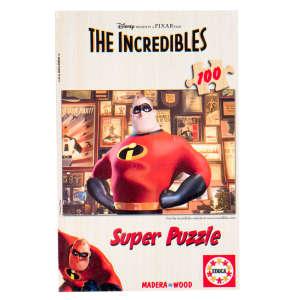 Educa Disney Hihetetlen Család fa Puzzle 100db-os 30221858 Puzzle gyereknek