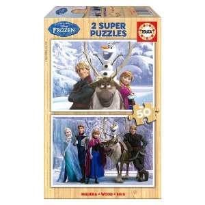 Educa Disney Jégvarázs fa Puzzle 2x50db-os I. 30221869 Puzzle gyereknek