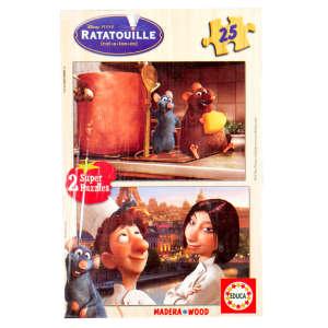 Educa Disney Lecsó fa Puzzle 2x25db 30221879 Puzzle gyereknek