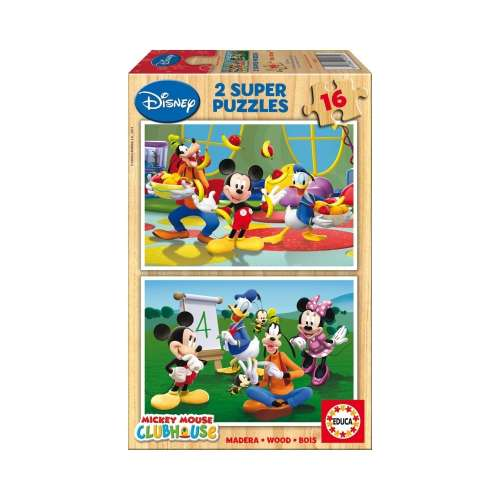 Educa Disney gyerek Puzzle 2x16db - Mickey Mouse 30221884