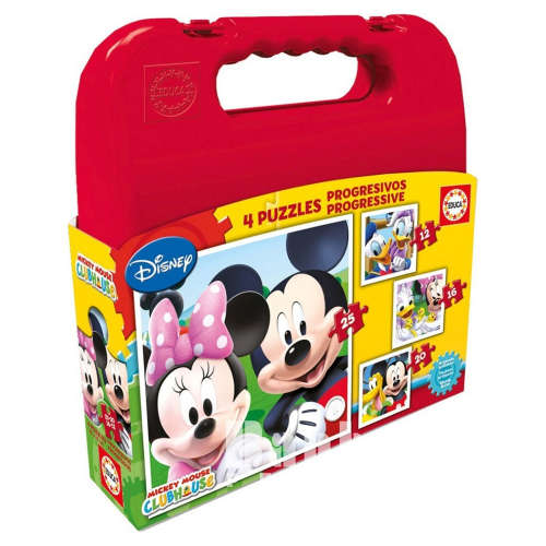 Educa Disney 4in1 gyerek Puzzle - Mickey Mouse 30476172