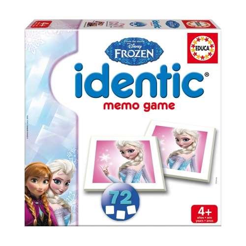 Educa Identic Disney #Jégvarázs Memória játék #72db-os