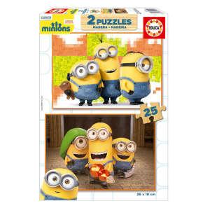 Educa Minions fa Puzzle 2x25db-os 30222065 Puzzle gyereknek