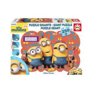 Educa Minions óriás Puzzle 250db 30477259 Puzzle gyereknek